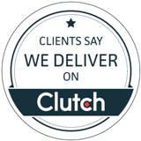 We Deliver White Clutch